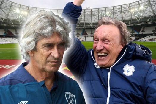 West Ham v Cardiff Offers