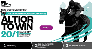 20/1 Altior to win Champion Chase