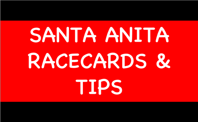 Santa Anita - Horse Racing Tips