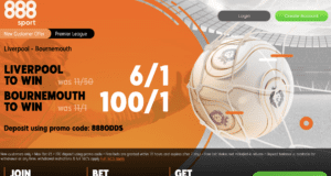 888 6/1 Liverpool or 100/1 Bournemouth