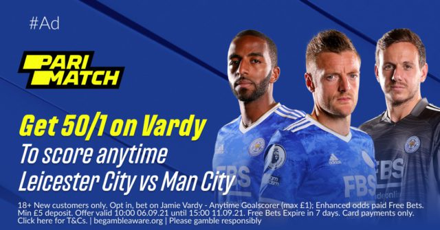 1200x628 Facebook scaled - Get 50/1 Vardy To Score   Leicester vs Man City PariMatch Enhanced Odds Offer